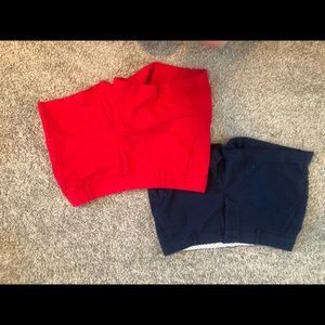 Shorts size 6 - Nautica and Land and Sea